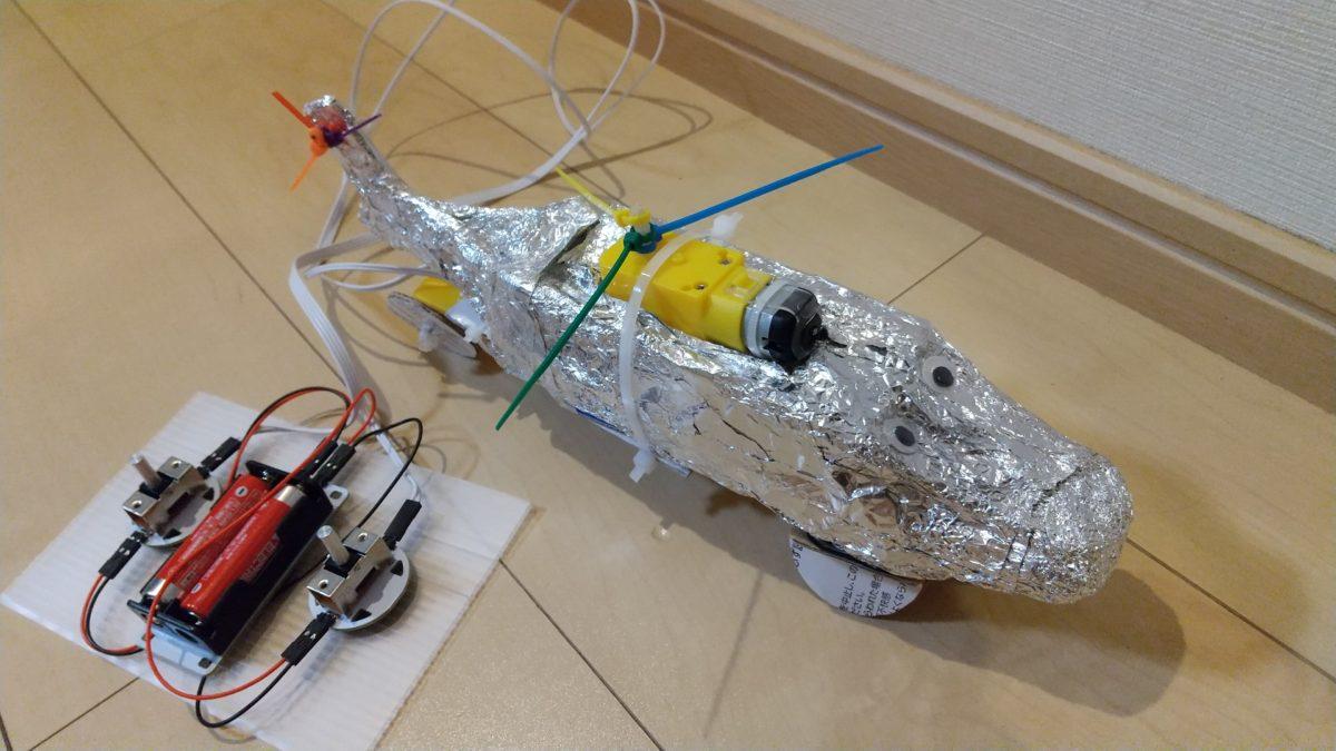 豊中市共催オンライン講座「はじめてのロボット作りに挑戦」