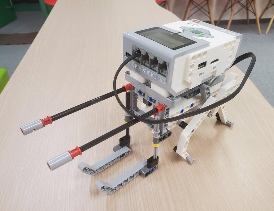 リンク機構で歩行ロボット制作に挑戦!