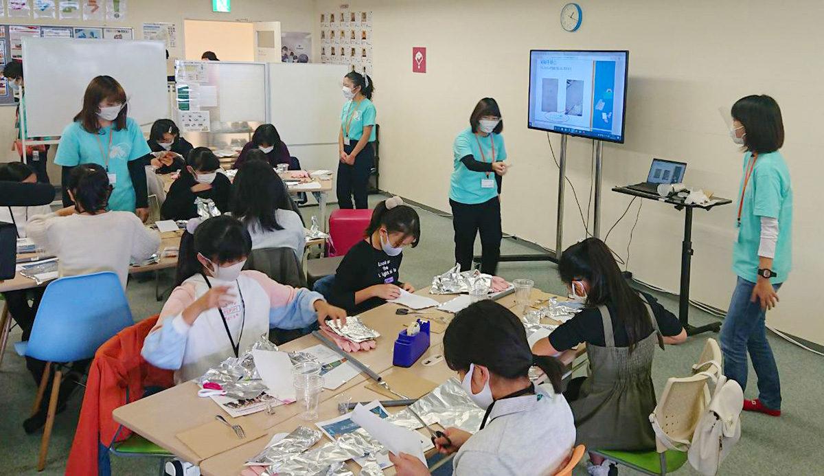 大阪府立大学理系女子大学院生チームIRIS(アイリス)による女子生徒限定イベントを開催!