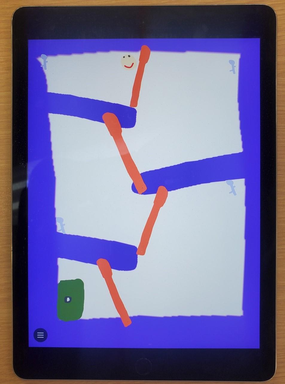 iPadを使って迷路ゲーム制作に挑戦!