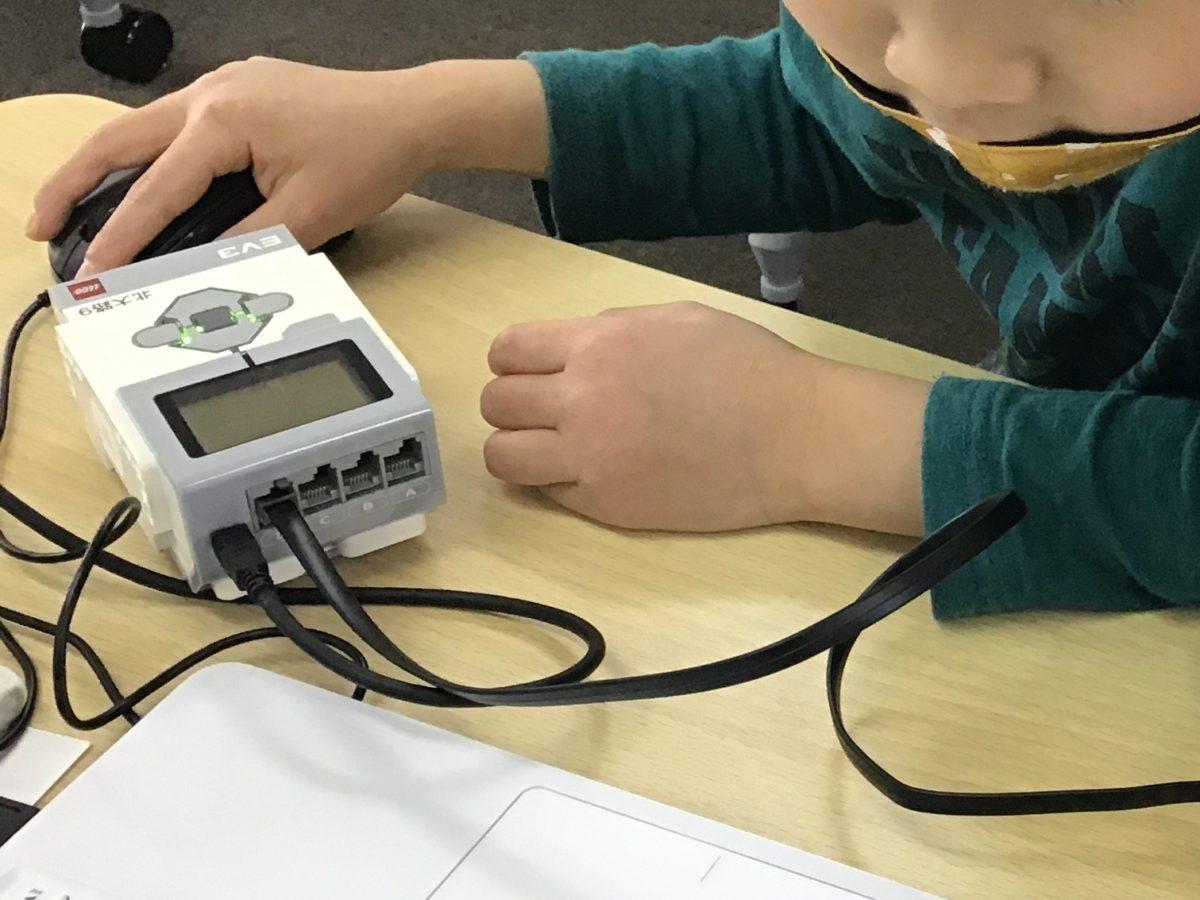 『かんたんルーレット』生徒作品とマウス操作