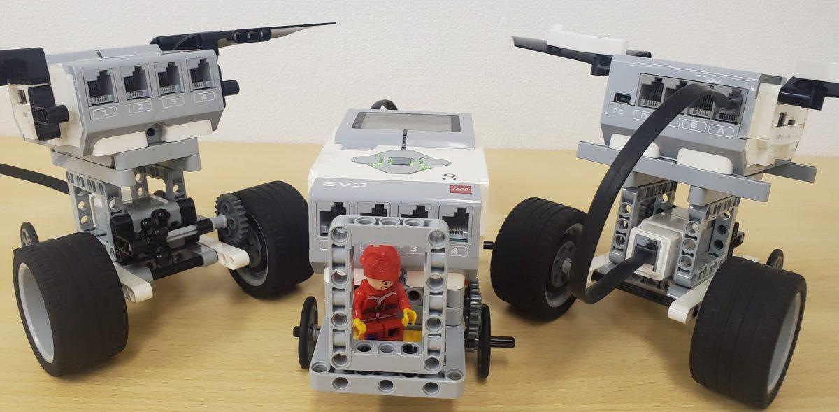 Mモーターを使ったロボット作品集